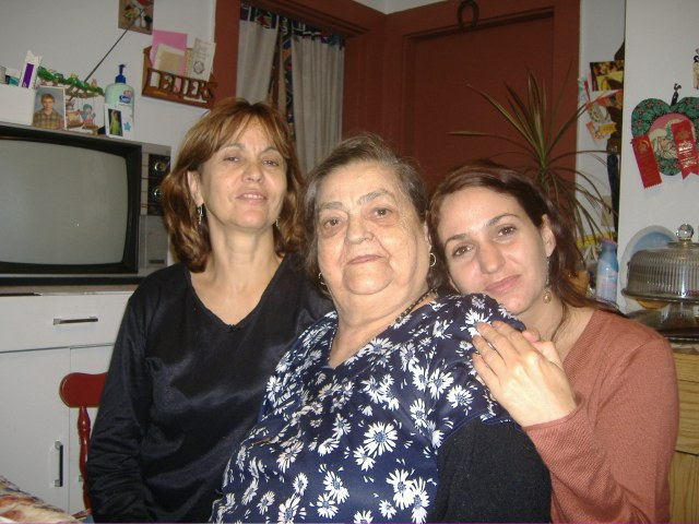 Three Genertaions of Tough Portuguese Women...Alvarina, Rosa, and me.  I miss you Grandma.