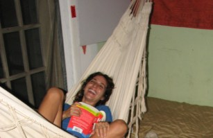 Lounging in the Hammock