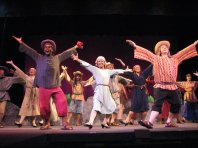 Performing, Joseph and the Amazing Technicolor Dreamcoat.... so much fun!