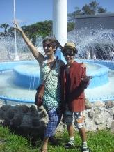 Me and my teenage son!!! Weirdos