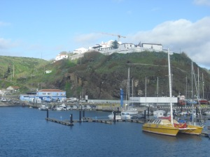The Port on the island of Santa Maria