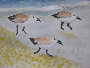 Marlin's art.. watercolors