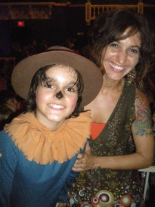 Marlin as the Scarecrow in the Wizard of OZ