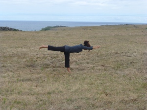 Yoga without a Mat, Warrior Three, Finding balance in the Azores