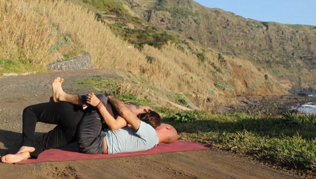 falls partner yoga