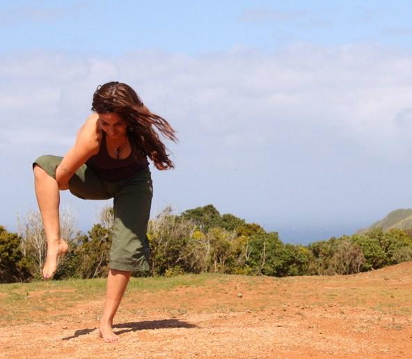 How to do bird of paradise yoga pose