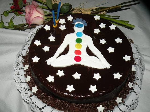 Sometimes Chocolate Cake is Good For Your Chakras