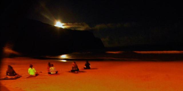 Magical Moonrise Yoga and Meditation