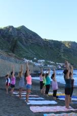 Teaching Yoga in Sao Lourenco