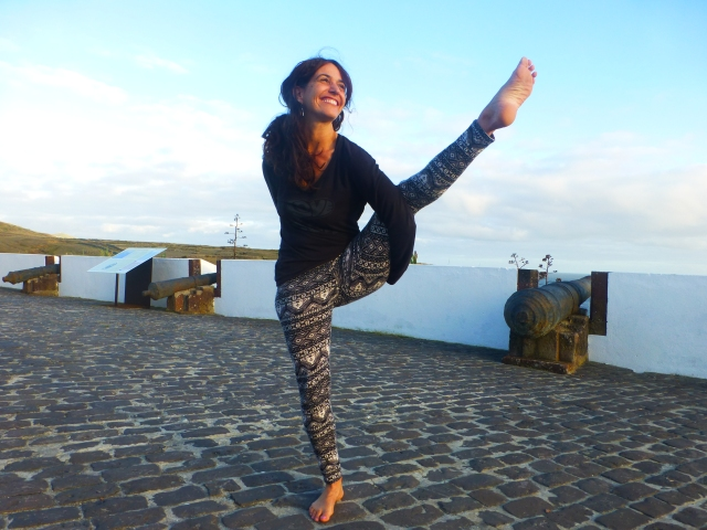 Bird Of Paradise yogini tiff azores yoga