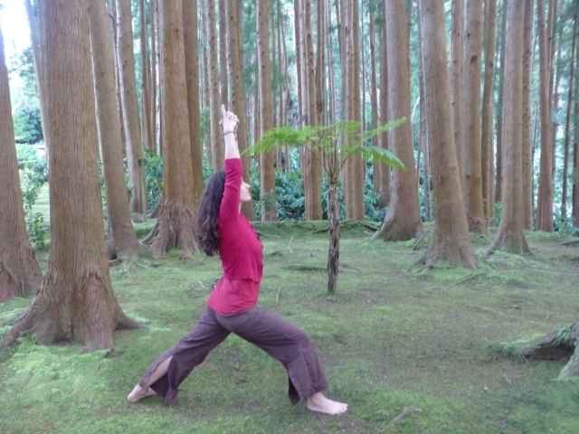 Root Chakra Asana: Warrior I/ Getting Grounded With The Best Teachers