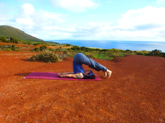 Plow Pose For Throat Chakra