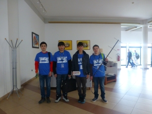 CanSAT Azores, My Son and his Teammates