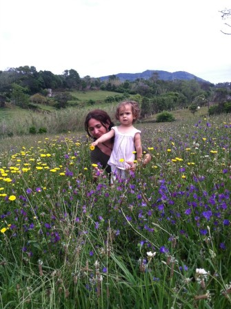 Country Living, Springtime In The Azores, A field near our new house