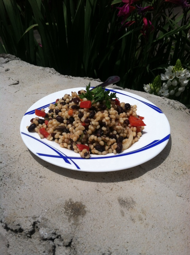 Black Bean Coucous Salad