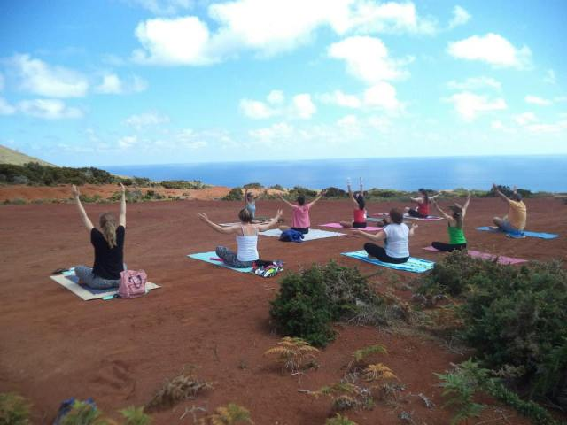 Azores Geosite Yoga Classes
