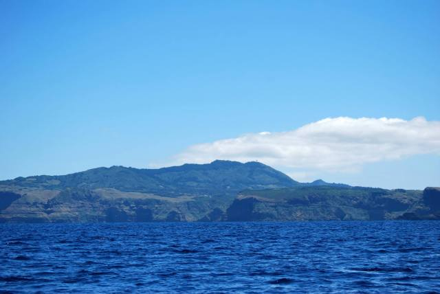 The Beautiful Island of Santa Maria at a Distance